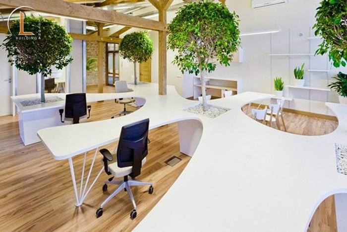 đơn giá thiết kế nội thất văn phòng