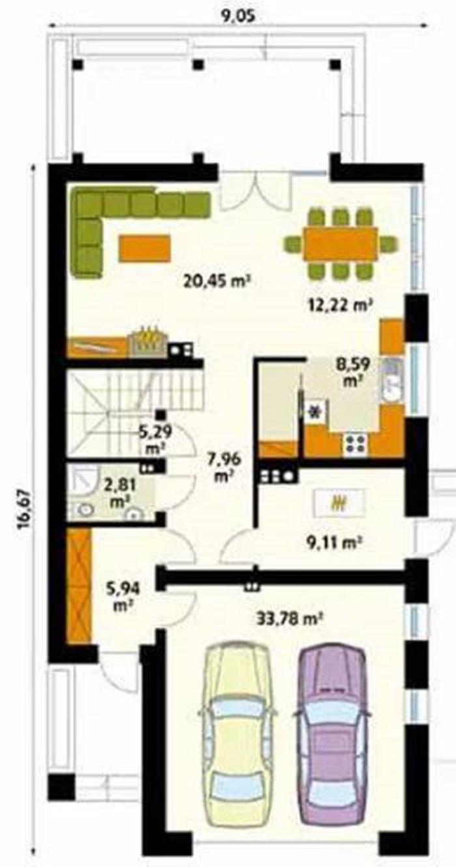 mẫu thiết kế nhà biệt thự sân vườn