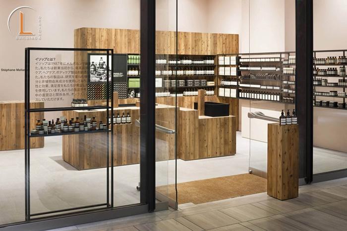 showroom mỹ phẩm hàn quốc