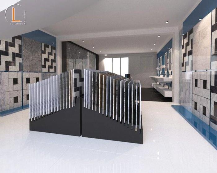 showroom vật liệu xây dựng