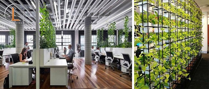 thiết kế nội thất văn phòng hải dương