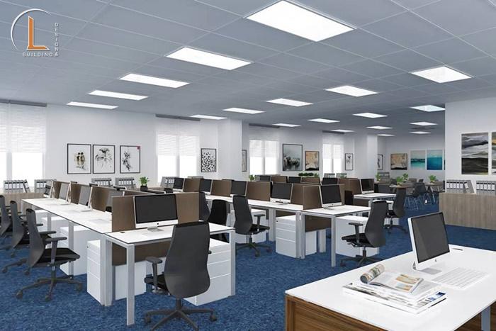 thiết kế nội thất văn phòng mới