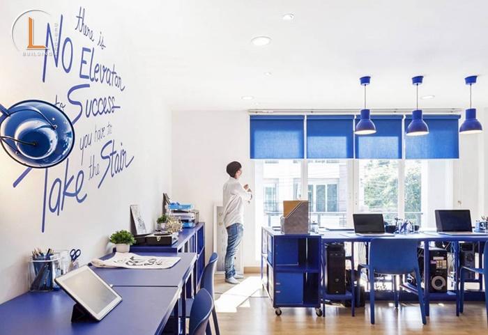 thiết kế nội thất cho văn phòng nhỏ