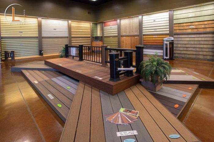 trưng bày showroom vật liệu xây dựng