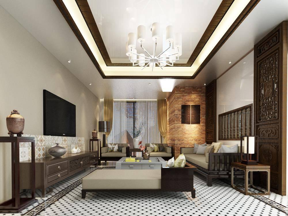 Phòng khách - Indochine Style tại Hải Dương | LuxhouseHD