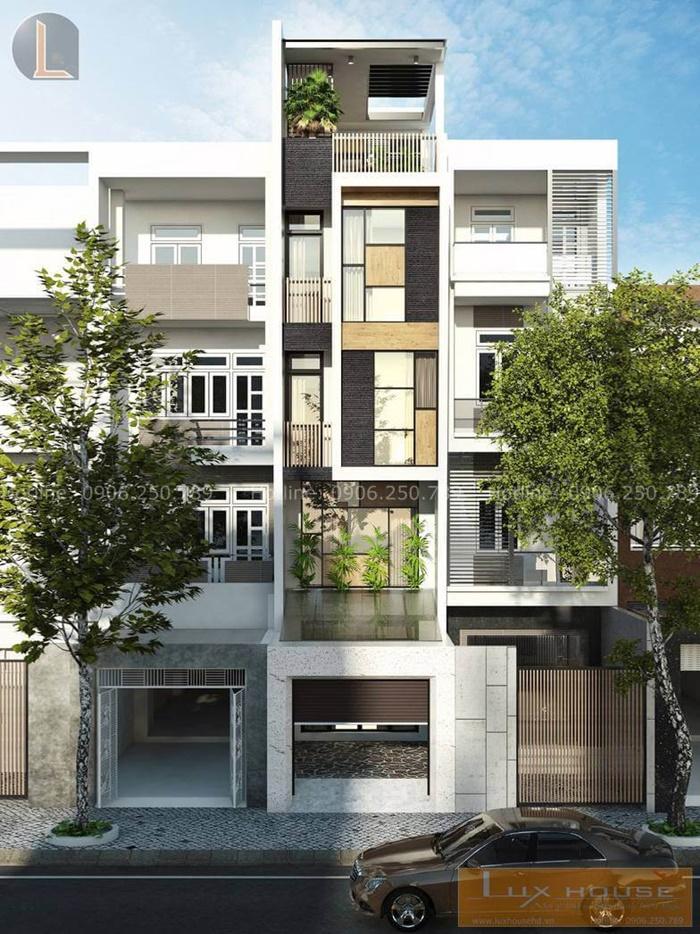 bản vẽ thiết nhà phố 4 tầng