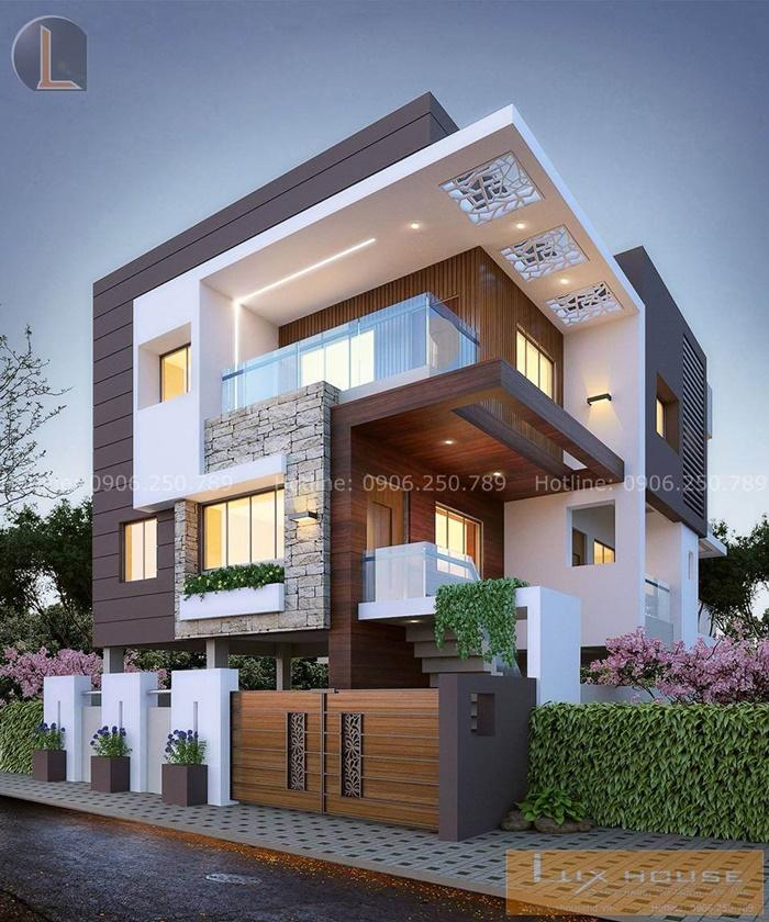 biệt thự 3 tầng hiện đại đẹp nhất