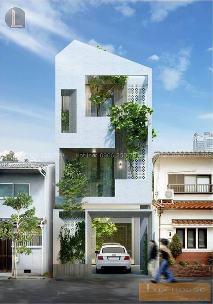 công trình nhà phố hiện đại