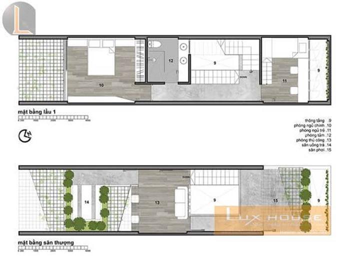 hồ sơ thiết kế nhà phố 3 tầng
