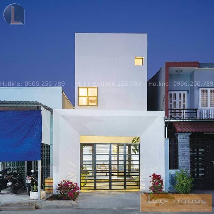 thiết kế nhà phố đơn giản đẹp sang trọng