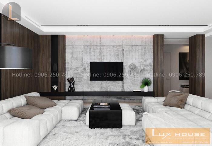 phí thiết kế nội thất chung cư