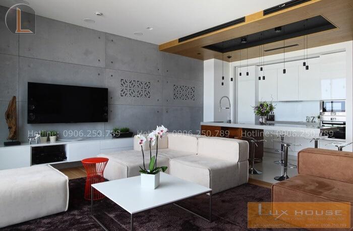 phòng khách nội thất chung cư