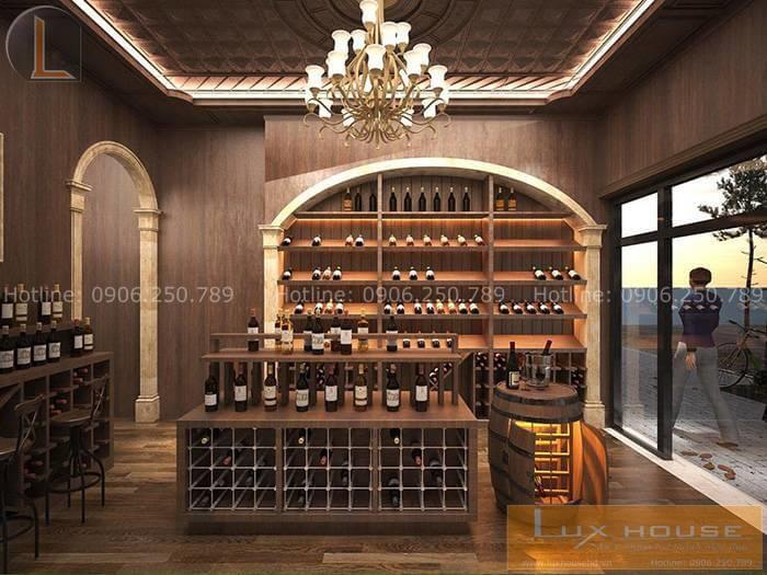 showroom rượu ngoại