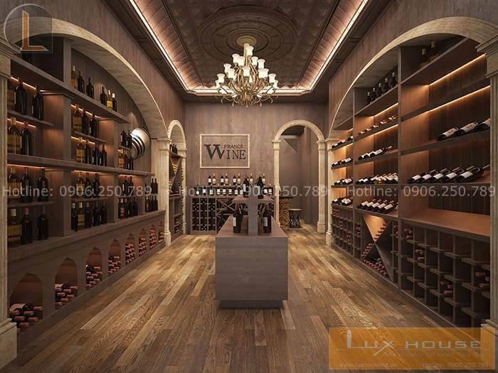showroom rượu tây