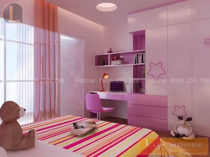 thiết kế chung cư đẹp nội thất