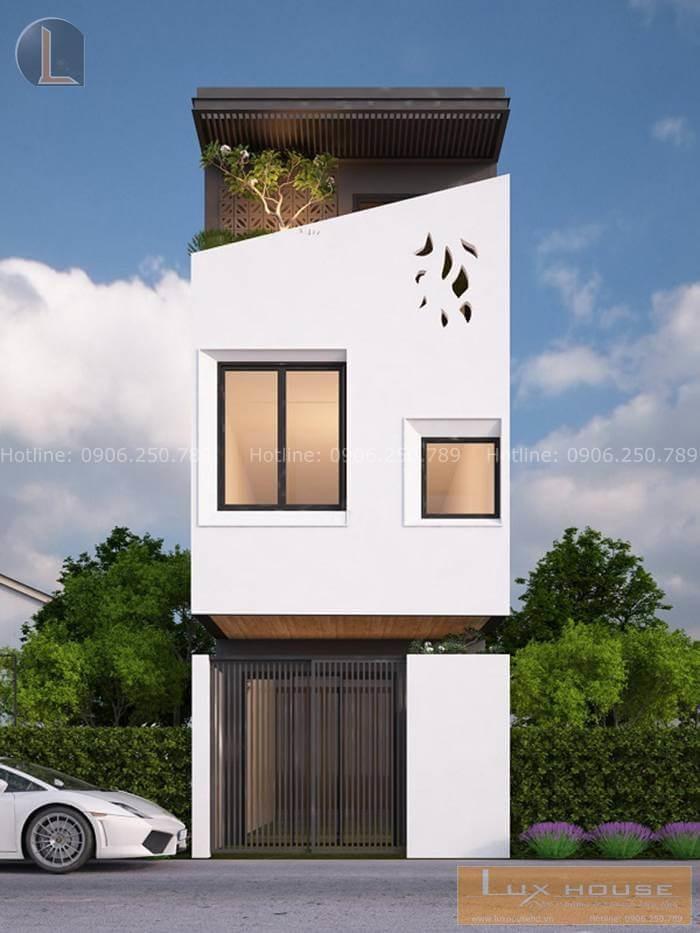 nhà phố đơn giản
