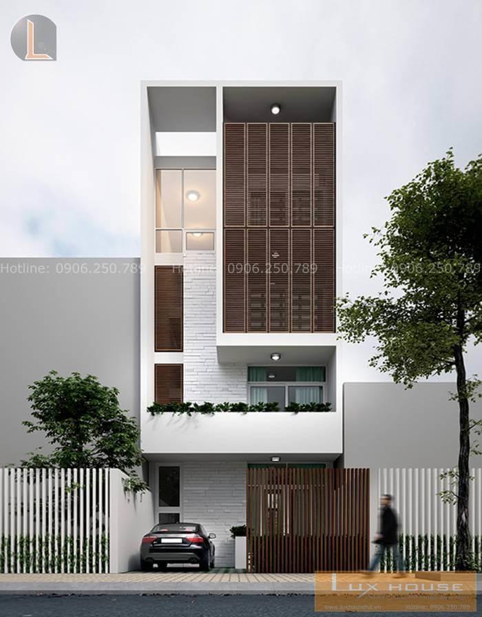 thiết kế nhà phố nhỏ
