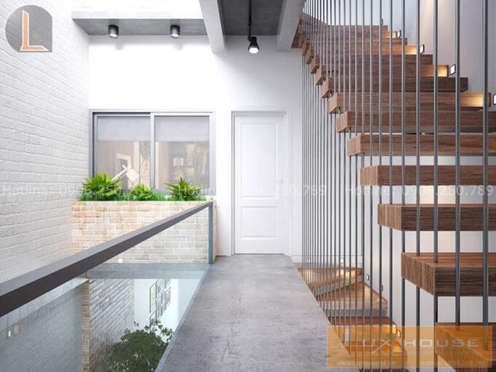cầu thang nhà 3 tầng
