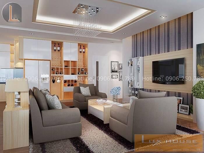ý tưởng thiết kế nội thất chung cư nhỏ