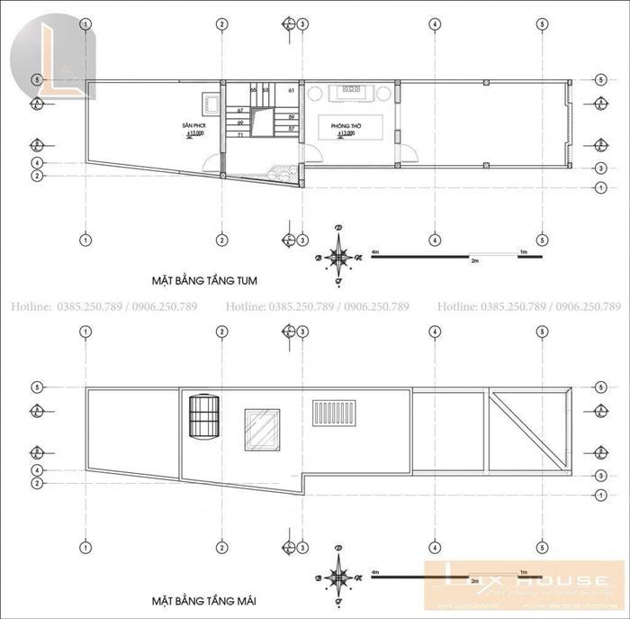 thiết kế nhà đẹp không gian mở