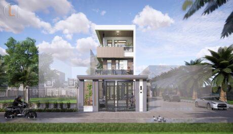 thiết kế nhà 3 tầng tại kim thành hải dương