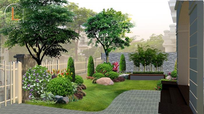 kiến trúc biệt thự nhà vườn