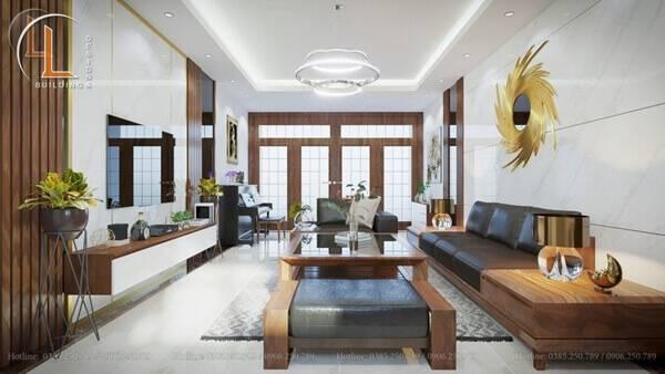 nội thất chung cư phòng khách