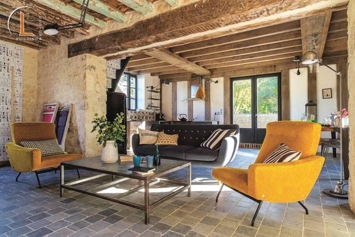 Phong cách thiết kế nội thất kiểu vintage