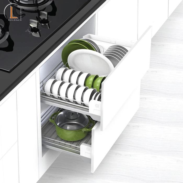 tủ lưu trữ đồ phòng bếp