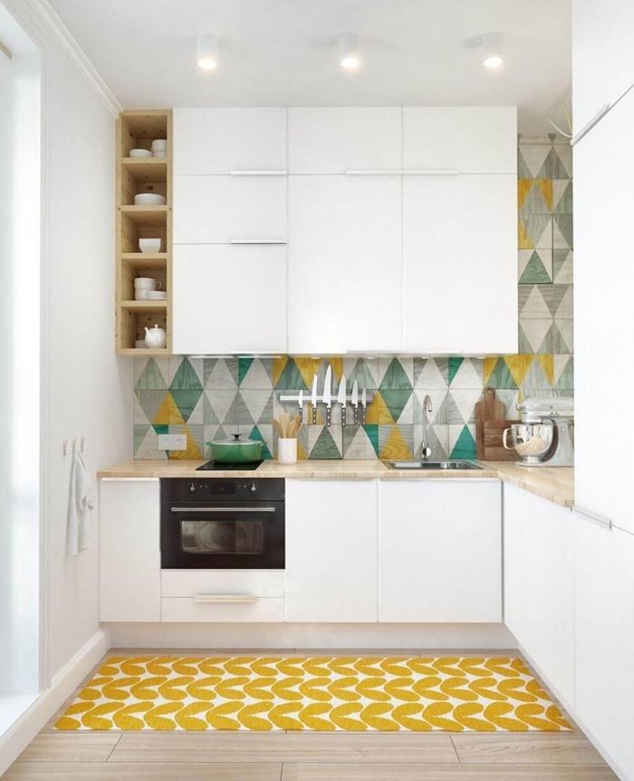 thiết kế bếp đơn giản mà đẹp