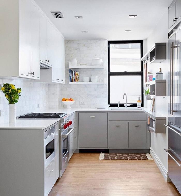 thiết kế phòng bếp đơn giản mà đẹp