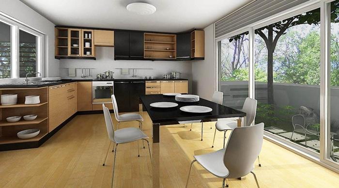 trang trí nội thất phòng bếp hiện đại