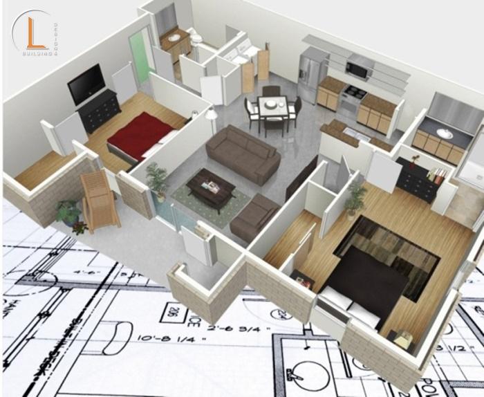 chức năng của phòng thiết kế nội thất