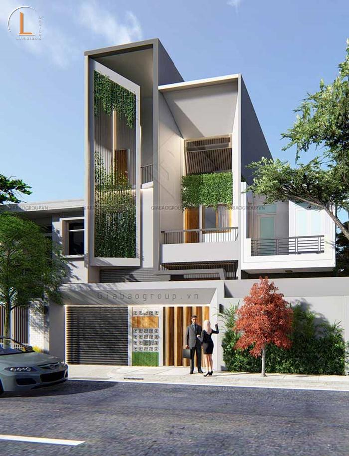 thiết kế kiến trúc xanh