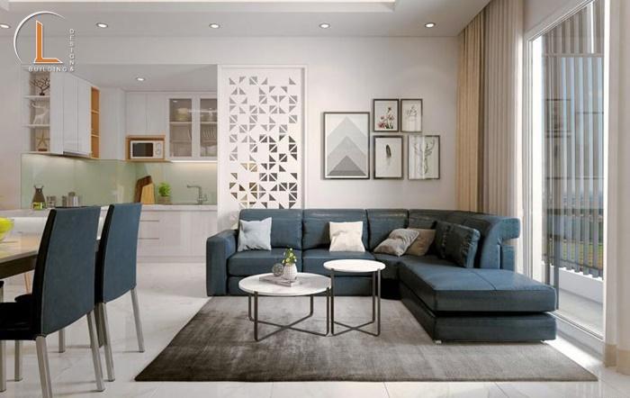 mẫu thiết kế nội thất căn hộ chung cư 100m2