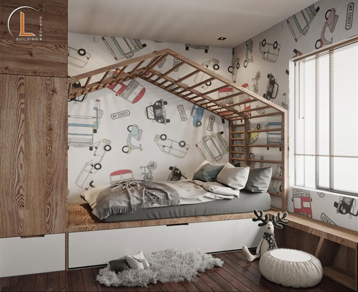 mẫu thiết kế nội thất chung cư 60m2