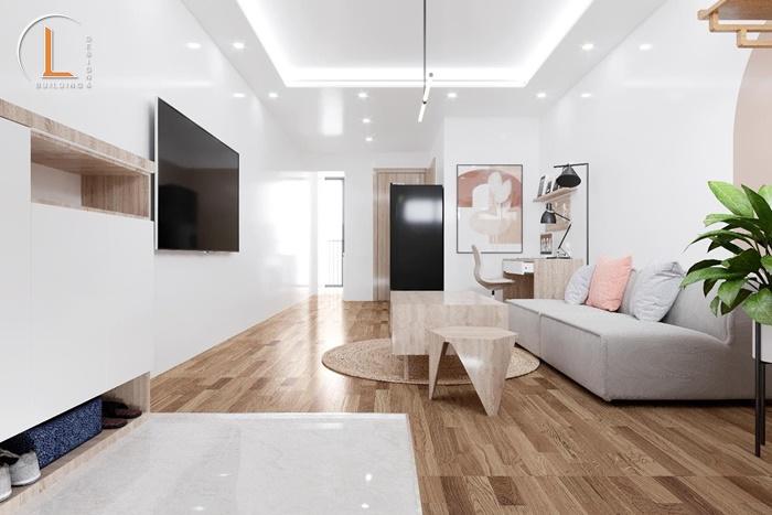 mẫu thiết kế nội thất chung cư 65m2