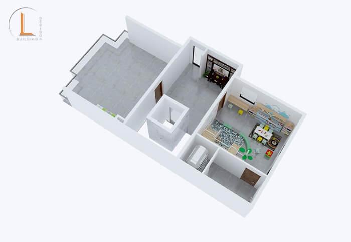 nhà mặt tiền 7m 3 tầng