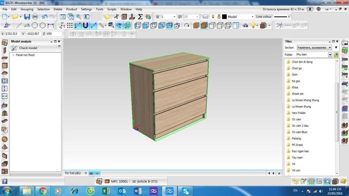 phần mềm thiết kế nội thất gỗ