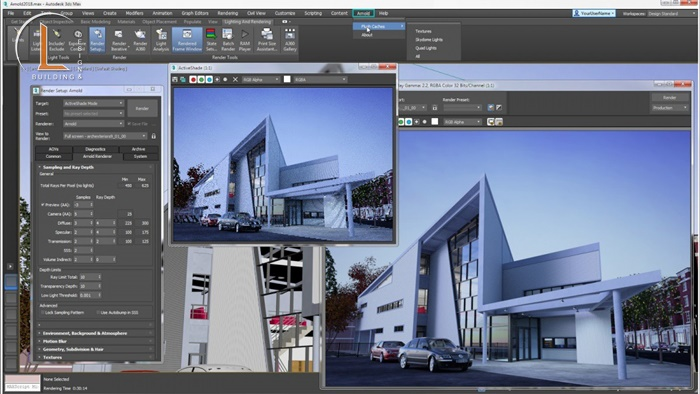 phần mềm thiết kế kiến trúc 3d max