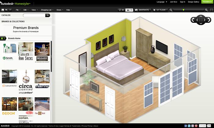 phần mềm thiết kế nội thất 3d online