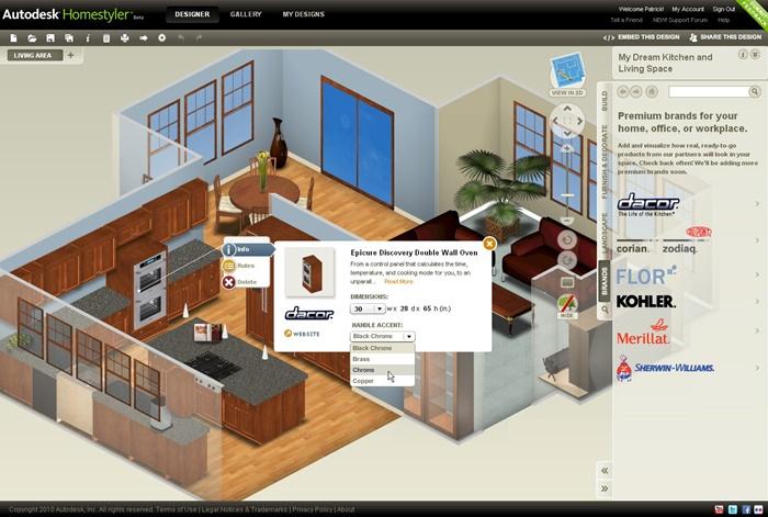 phần mềm tự thiết kế nội thất