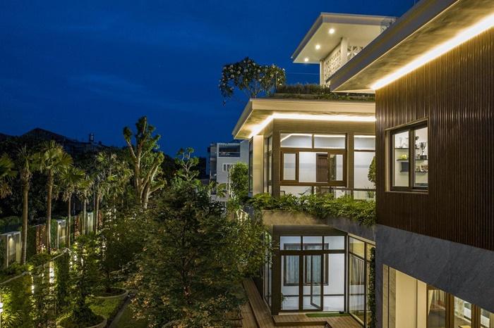thiết kế biệt thự theo phong cách eco villas style