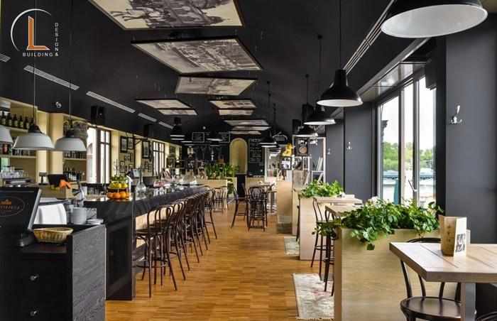 thiết kế nội thất cafe độc đáo
