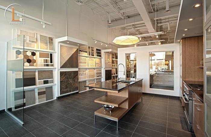 thiết kế showroom nội thất đẹp