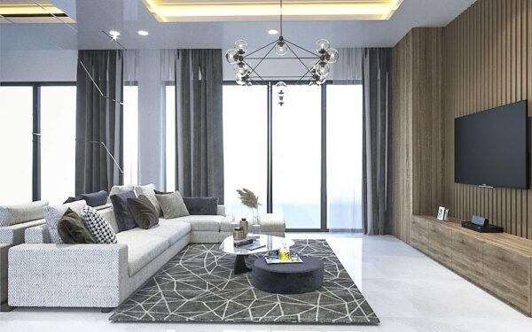 Xác đinh phong cách thiết kế chung cư 65m2