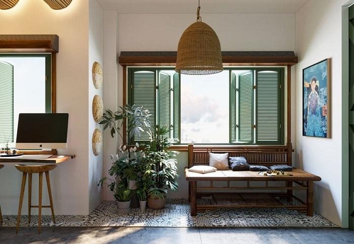 Homestay phong cách Indochine- đậm đà bản sắc