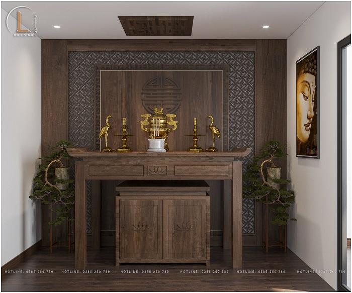 nội thất phòng thờ đẹp