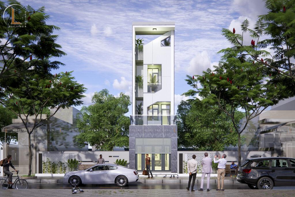 Nhà -phố- 4 -tầng-tầng -1- kinh -doanh
