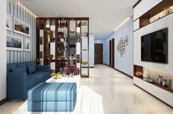 nội thất tối giản phòng khách